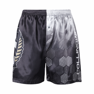 Collingwood Magpies Satin Boxer Short - Size 2XL