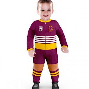 Brisbane Broncos Footysuit - Size 00