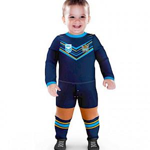 Gold Coast Titans Footysuit - Size 1