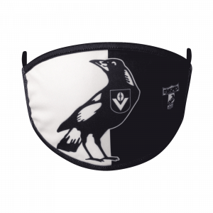 Collingwood Magpies 2 Pack Retro Face Masks