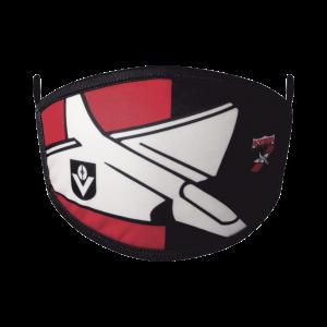 Essendon Bombers 2 Pack Retro Face Masks